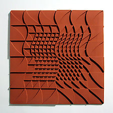 Life Twists and Turns 05 by Marek Jacisin (Ceramic Tile)