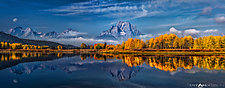 Ox Bow Bend #2 by Matt Anderson (Color Photograph)