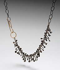 Calder Necklace by Peg Fetter (Silver Necklace)