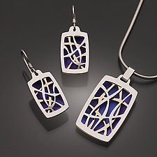 Organic Lines Jewelry by David Smallcombe (Silver & Niobium Jewelry)