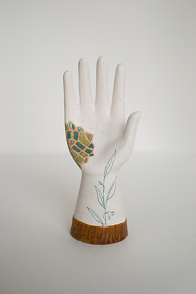 Ceramic Hand Sculpture - Journeys