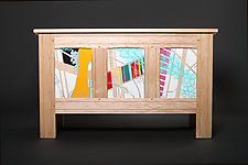Modern Blanket Chest by Reid Anderson (Wooden Chest)