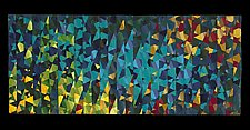 Karner Blues by Joy Saville (Fiber Wall Art)