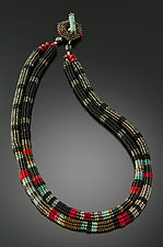 Anasazi Necklace by Julie Powell (Beaded Necklace)