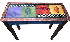 Entry Table by Wendy Grossman (Wood Console Table)