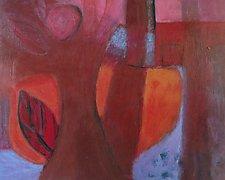 Through the Wood by Heidi Daub (Acrylic Painting)