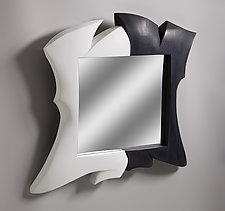 Dancing Couple by Erik Wolken (Wood Mirror)