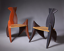 You and Me by Erik Wolken (Wood Chair)