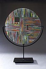 Circle #3 by Ernest Porcelli (Art Glass Sculpture)