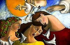 Las Tres Marias, The Three Marias by Armando  Adrian-Lopez (Giclee Print)