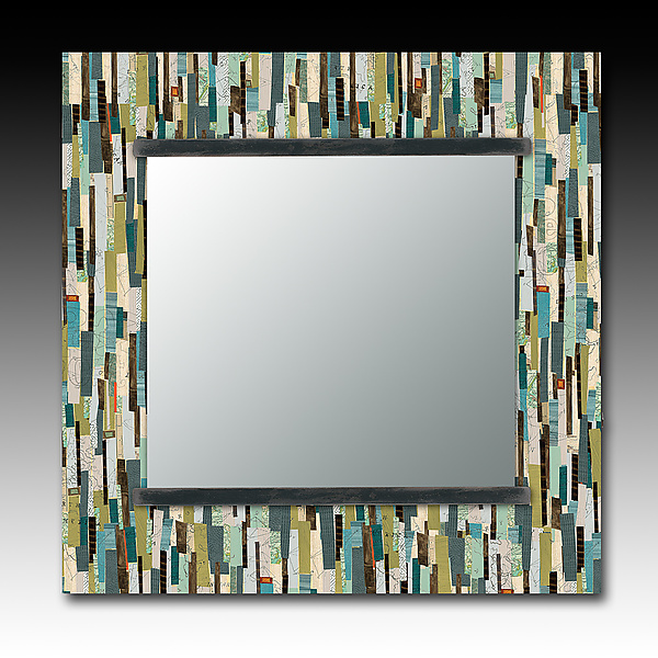 Papers Square Mirror