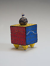 Primary Box by Vaughan Nelson (Ceramic Box)