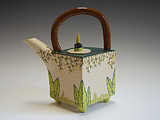 Jungle Teapot by Vaughan Nelson (Ceramic Teapot)