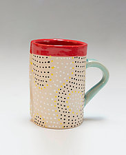 Ripple Mug by Vaughan Nelson (Ceramic Mug)