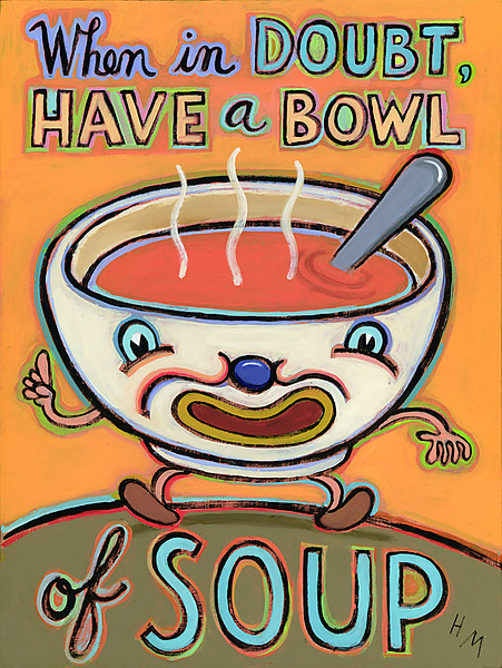 When in Doubt, Have a Cup of Soup