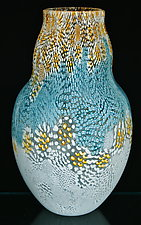 Murrini Vase by Michael Egan (Art Glass Vase)