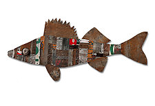 Great Lakes Collection by Dolan Geiman (Mixed-Media Wall Sculpture)