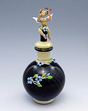 Cupid by Chris Pantos (Art Glass Perfume Bottle)
