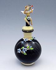 Cupid by Chris Pantos (Art Glass Perfume Bottle)