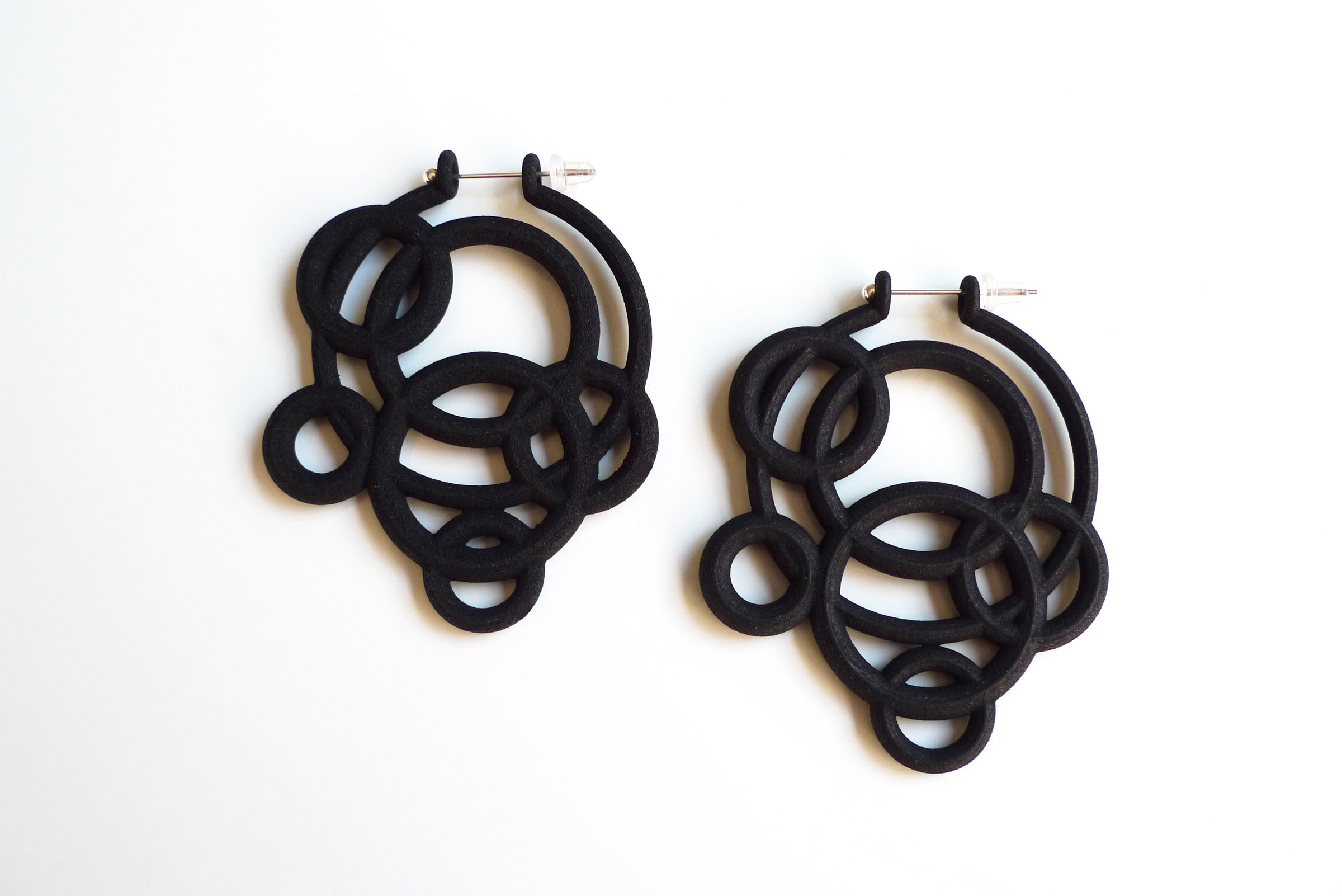 Nylon Earrings 112