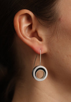 Open Swirl Earrings