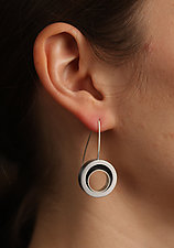 Open Swirl Earrings by Melissa Stiles (Resin Earrings)