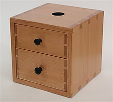 Piggy Bank Box I by Todd  Bradlee (Wood Box)