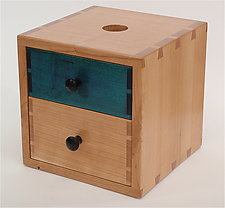 Piggy Bank Box II by Todd  Bradlee (Wood Box)
