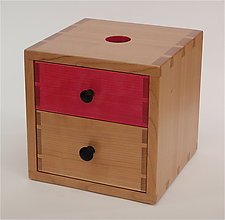 Piggy Bank Box III by Todd  Bradlee (Wood Box)