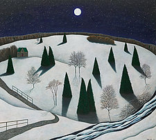 Berkshire Nightscape by Scott Kahn (Giclee Print)
