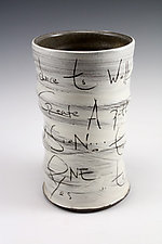 Union Round Vase by Noelle VanHendrick and Eric Hendrick (Ceramic Vase)