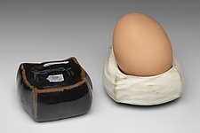 Egg Squares by Marion Angelica (Ceramic Holder)