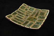 Organic Tortoise Collection by Jason Lindell (Art Glass Platter)