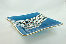 Overland Stepping Stone by Jason Lindell (Art Glass Bowl)