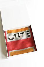 Cute Scarf by Jeannet Leendertse  (Silk Scarf)