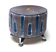 The Vincent Tuffet by Anne Bossert (Upholstered Ottoman)