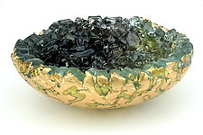 Dark Shadow by Mira Woodworth (Art Glass Bowl)