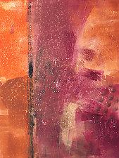 Western Sky 2 by Sandra Humphries (Monotype Print)