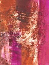 New Mexico Sky by Sandra Humphries (Monotype Print)