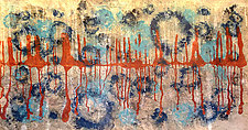 Spores #4 High Water Line (After Sandy) by Joanie San Chirico (Acrylic Painting)