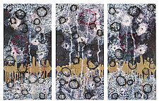 Spores #5 (After Sandy) by Joanie San Chirico (Acrylic Painting)