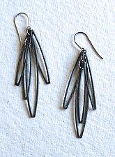 Cosmos 5 Earring by Jennifer Bauser (Silver Earrings)
