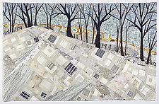 Boundaries by Linda Beach (Fiber Wall Art)