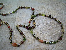 Rainforest Necklace by Diana Lovett (Beaded Necklace)