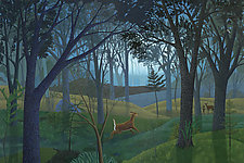 Morning Forest by Jane Troup (Giclee Print)