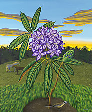 Rhododendron by Jane Troup (Giclee Print)