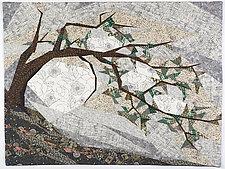 Krummholz by Linda Beach (Fiber Wall Art)