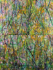 October Morning by Nelda Warkentin (Fiber Wall Art)