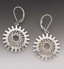 Pyxis Earrings by Marie Scarpa (Silver Earrings)