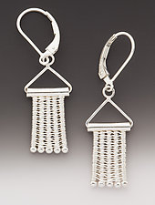 Hangers Earrings by Marie Scarpa (Silver Earrings)
